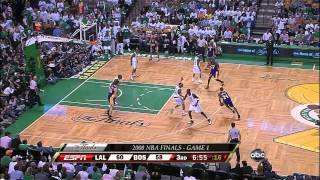 2008 NBA Finals - Los Angeles vs Boston - Game 1 Best Plays