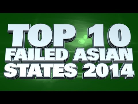 10 failed states in Asia 2014