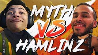 Myth vs Hamlinz #2 - Pro Playgrounds (1v1 BUILD BATTLES!)