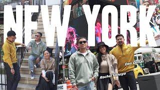 Travel-VLOGGG: NEW YORK! Kerja Rasa Liburan