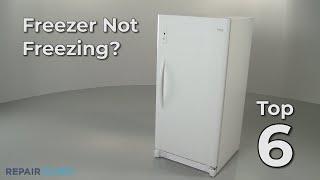 Freezer Isn't Freezing  — Freezer Troubleshooting