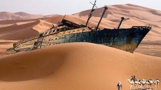 10 Niezwykłych odkryć na pustyni
