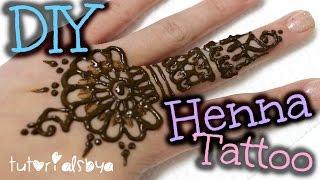 DIY Henna Tattoo Tutorial + Tips & Tricks | TutorialsByA
