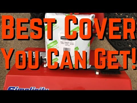 Best Snow Blower/Thrower Cover | Hybrid Covers