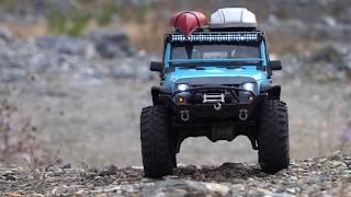Traxxas TRX-4 | Jeep Wrangler Rubicon JK | Off Road Rock Trail