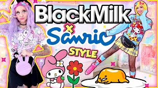 I AM A LAZY EGG (in Cute Sanrio Clothes) | Style Walkthrough: Sanrio X Blackmilk