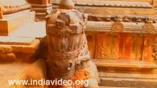 The Brihadeeswara temple in Tanjore