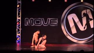 You + Me - Shelby Bain & Lucas Demarinis - Lyrical Duet 2015- Move Dance Competition