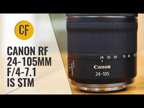 External Review Video Cx9fDx77vgg for Canon RF 24-105mm F4-7.1 IS STM Lens