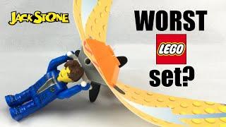 Worst LEGO set ever? LEGO Jack Stone Super Glider review! 4612