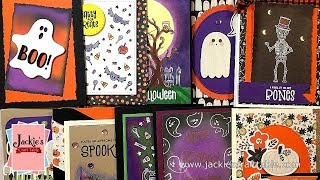 10 Cards 1 Kit | Simon Says Stamp Halloween Card Kit 2018 | Frightful Fun