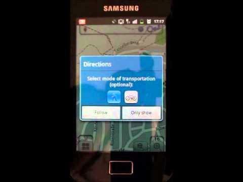Video of nogago Maps for Hiking Biking