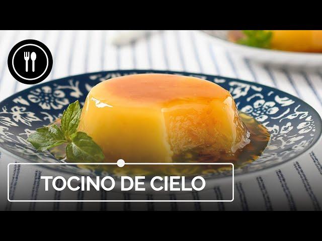 TOCINO DE CIELO: La receta auténtica de este postre tradicional