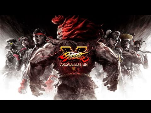 Trailer de lancement de l'arcade edition de Street Fighter V