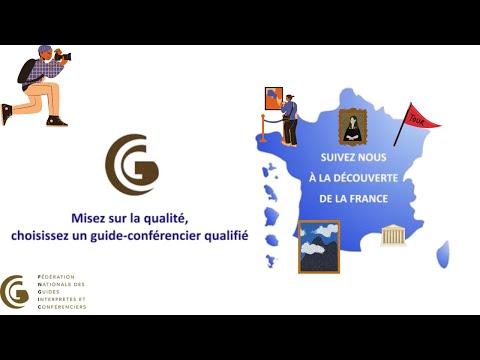 Фото видеогид Видео FNGIC - Федерации гидов Франции - Добро пожаловать в Париж!
