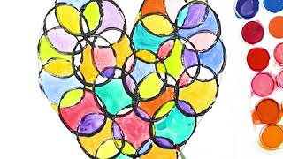 Circle Heart Art