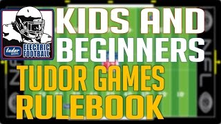 Kids and Beginners Tudor Games Rules