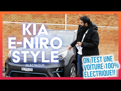 On a testé une Kia 100% électrique (Kia e-Niro Style)