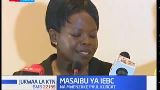 Mwenyekiti wa  IEBC Wafula Chebukati asema hajapokea barua ya kamishena yoyote kujiuzulu