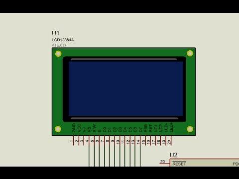 Digole 12864ZW LCD with ST7920 and PIC - смотреть онлайн на