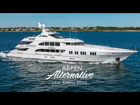 Motor Yacht Tri-Deck Trinity Motor Yacht video