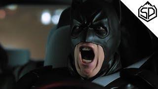 Бэтмен водит Убер #1   Бизнес-идеи