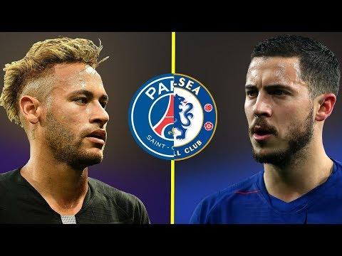 Neymar JR VS Eden Hazard - Who Is The Best Talent? - Amazing Dribbling Skills - 2019