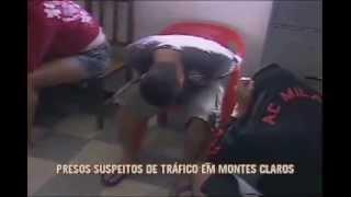 preview picture of video 'Presos suspeitos de tráfico em Montes Claros'