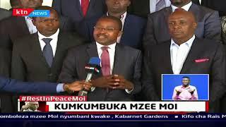 Baraza la Magavana wafariji Familia ya mzee moi mjini Nairobi   Buriani  Mzee Moi