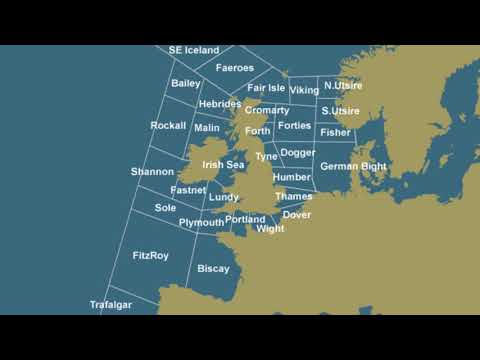 5 Hours of The Shipping Forecast on BBC Radio 4!