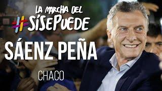 La Marcha del #SíSePuede en Sáenz Peña, Chaco