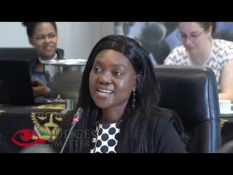 SA Electoral Court JSC Interview of Ms S C Lushaba – Judges Matter (October 2019)