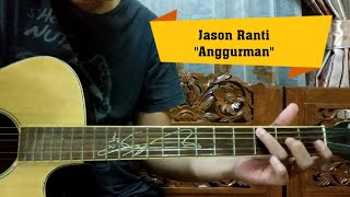 Jason Ranti - Anggurman Gitar Tutorial