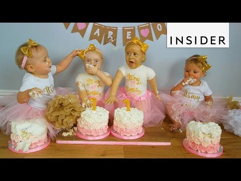 Life Sized Twin Baby Cakes are Creepy Realistic