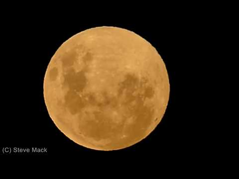Super Moon Viewed From Australia
