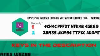 key activate kaspersky internet security 2017