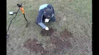 Russian metal detecting. Battle for foil