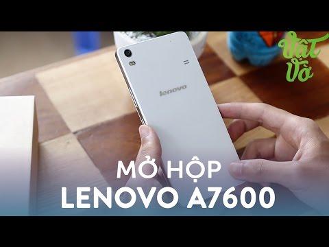 Hình ảnh Video - Mở hộp & đánh giá nhánh Lenovo A7600: thiết kế mới, giá hơn 2 triệu