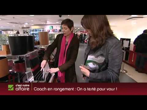 Video j ai test une coach en rangement - Coach rangement ...