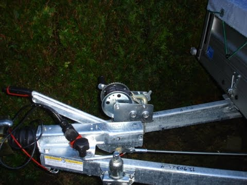 Anhänger Winde  An und Umbau Wetterschutz