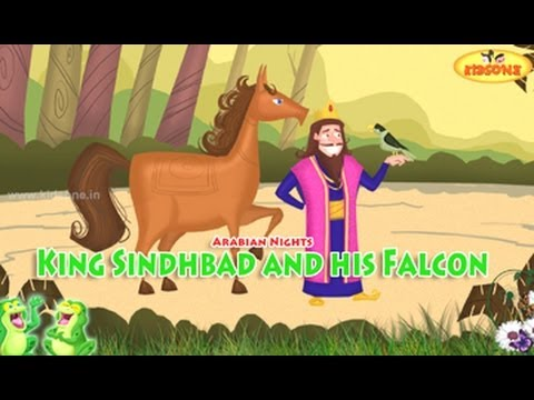 King Sindhbad and his Falcon || Arabian Nights Stories || Animated Moral Stories in English