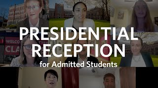 Presidential Reception for Admitted Students