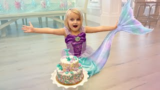I WOKE Up As A MERMAID! Parkers 5th BIRTHDAY