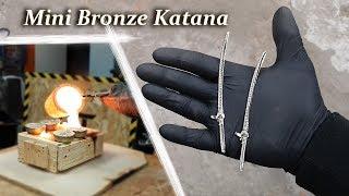 Casting Mini Bronze Katana   Genji Sword (OVERWATCH)
