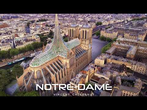 Stakleni koncept novog krova katedrale Notre Dame