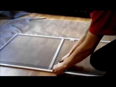 ремонт москитной сетки в домашних условиях
