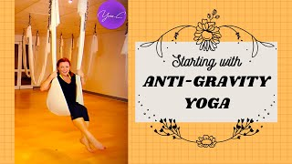 FITNESS 101 EP#10 : STARTING with ANTI-GRAVITY YOGA ✨ GET FIT #19