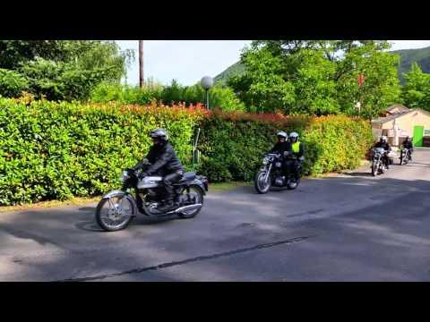 Rassemblement vieilles motos 2015