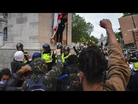 Λονδίνο: Μαζικές κινητοποιήσεις για τον Τζόρτζ Φλόιντ