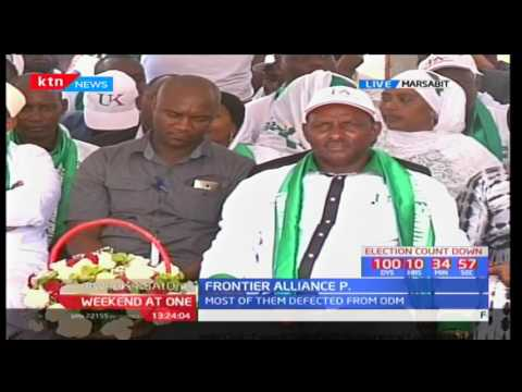 Marsabit county governor Ukur Yattani to launch Frontier Alliance Party in  Marsabit town